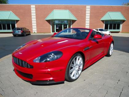 2012 ASTON MARTIN DBS BASE - RED ON BLACK