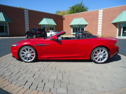 2012 ASTON MARTIN DBS BASE - RED ON BLACK 2
