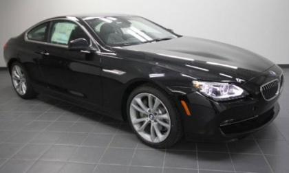 2012 BMW 640 I - BLACK ON BLACK