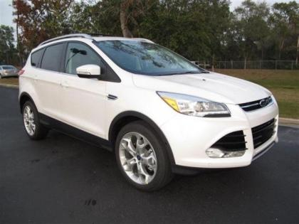 2013 FORD ESCAPE SEL - WHITE ON BLACK