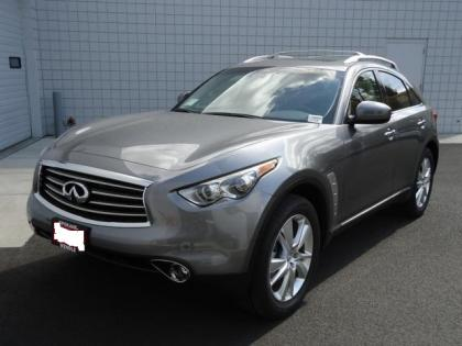 2012 INFINITI FX35 AWD - GRAY ON BLACK