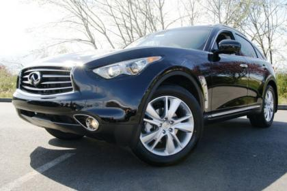 2012 INFINITI FX35 BASE - BLACK ON BLACK