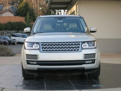 2013 LAND ROVER RANGE ROVER SUPERCHARGED - SILVER ON BEIGE 2