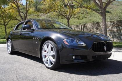 2012 MASERATI QUATTROPORTE S - BLACK ON BEIGE