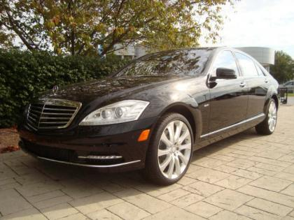 2012 MERCEDES BENZ S350 4MATIC - BLACK ON BROWN