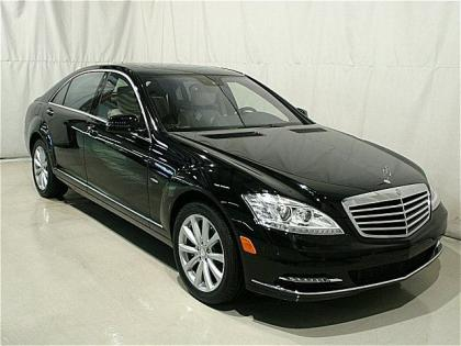 2012 MERCEDES BENZ S350 4MATIC - BLACK ON LIGHT BEIGE