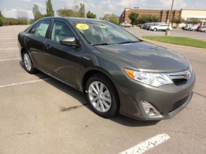 2012 TOYOTA CAMRY HYBRID XLE - BRONZE ON GREY 2