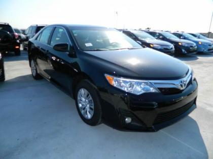 2012 TOYOTA CAMRY LE - BLACK ON BEIGE