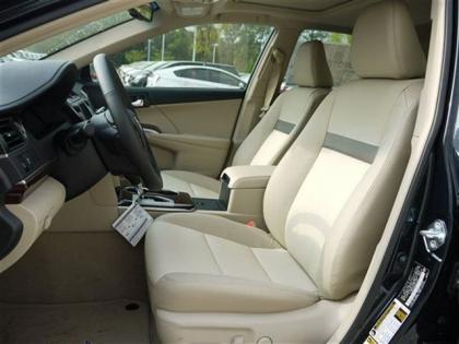 Export New 2012 TOYOTA CAMRY XLE - BLACK ON BEIGE
