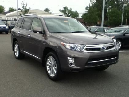 2012 TOYOTA HIGHLANDER HYBRID LIMITED - GRAY ON BLACK