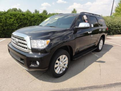 2012 TOYOTA SEQUOIA PLATINUM - BLACK ON GRAY