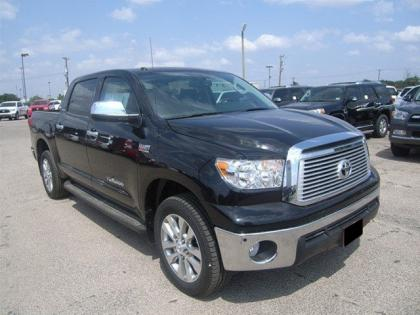 2012 TOYOTA TUNDRA LIMITED - BLACK ON BLACK