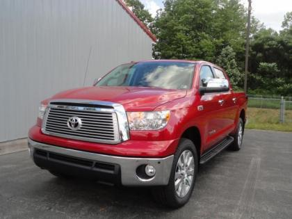 2012 TOYOTA TUNDRA PLATINUM - RED ON BLACK