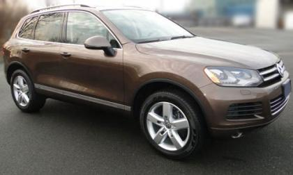 2012 VOLKSWAGEN TOUAREG TDI - BROWN ON BROWN