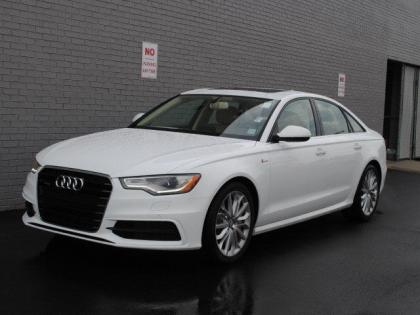 2013 AUDI A6 3.0T PREMIUM - WHITE ON BEIGE 1