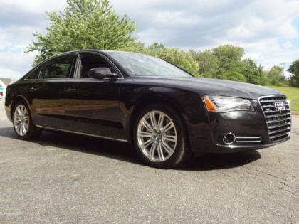 2013 AUDI A8 L - BLACK ON BROWN