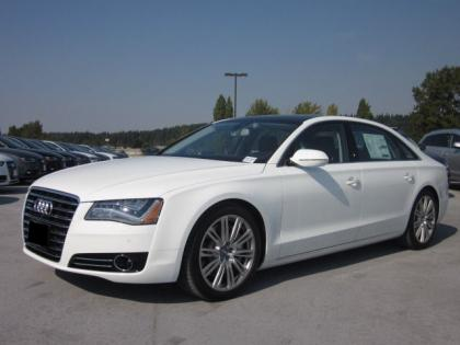 2013 AUDI A8 L - WHITE ON BLACK