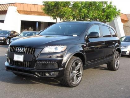 Export New 2013 Audi Q7 S Line Prestige Black On Black