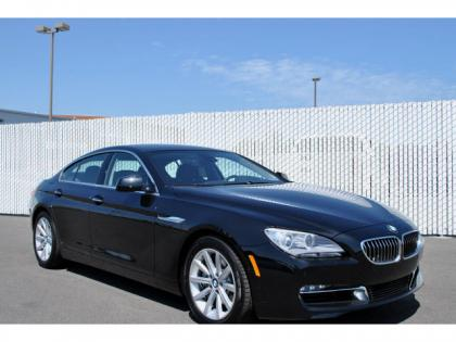 2013 BMW 640 I  GRAN COUPE - BLACK ON BLACK