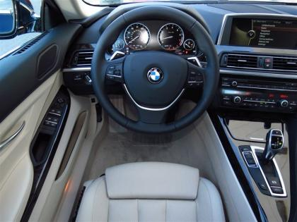 2013 BMW 640 GRAN COUPE - BLUE ON WHITE 3
