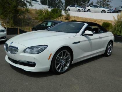 2013 BMW 650 I - WHITE ON BROWN