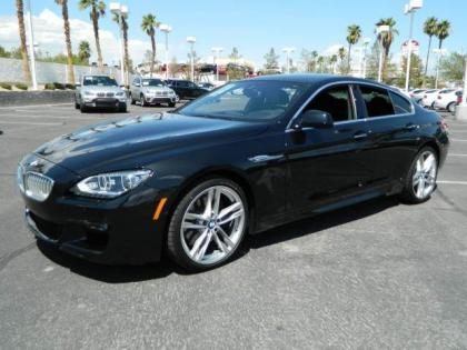 2013 BMW 650 I GRAN COUPE XDRIVE - BLACK ON BLACK