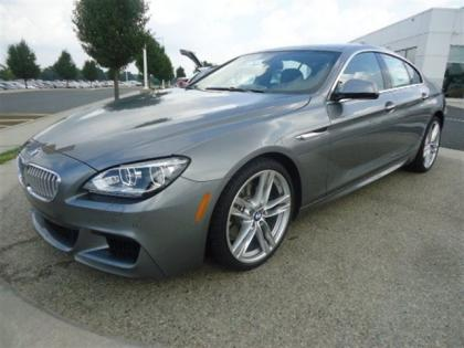 2013 BMW 650 I GRAN COUPE XDRIVE - GREY ON BLACK 1