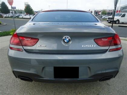 2013 BMW 650 I GRAN COUPE XDRIVE - GREY ON BLACK 3