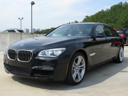 2013 BMW 750 LI - BLACK ON BLACK