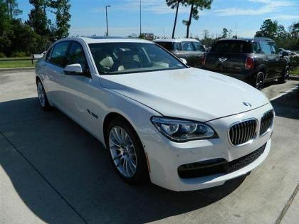 2013 BMW 750 LI - WHITE ON GREY 2
