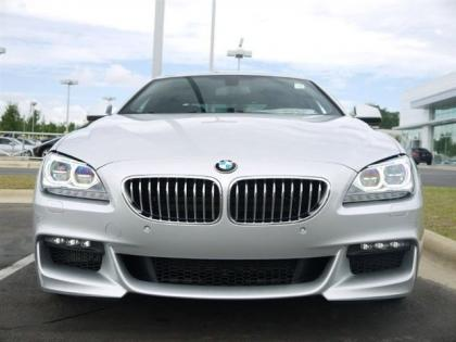 2013 BMW 650 I GRAN COUPE XDRIVE - SILVER ON BLACK