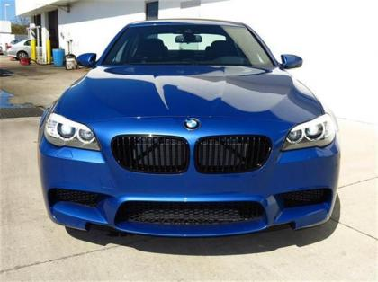 2013 BMW M5 BASE - BLUE ON BLACK