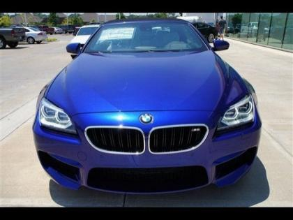 2013 BMW M6 BASE - BLUE ON WHITE 2