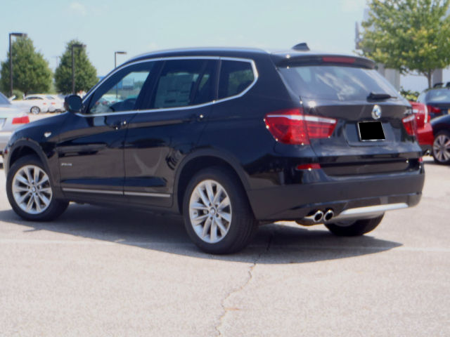 2013 BMW X3 XDRIVE28I - BLACK ON BLACK 2