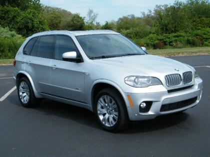 2013 BMW X5 XDRIVE50I - SILVER ON BLACK 1