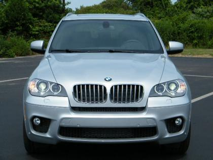 2013 BMW X5 XDRIVE50I - SILVER ON BLACK 2