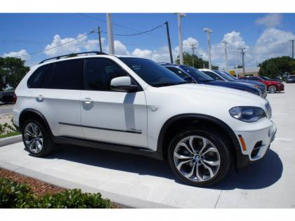 2013 BMW X5 XDRIVE50I - WHITE ON BLACK 1