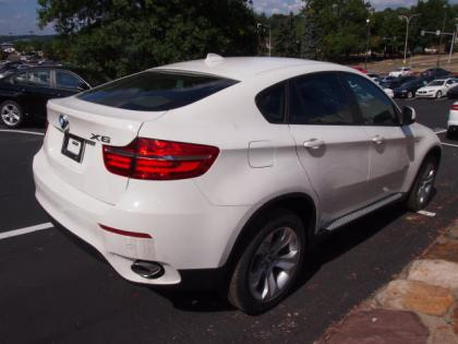 2013 BMW X6 XDRIVE35I - WHITE ON BEIGE 4