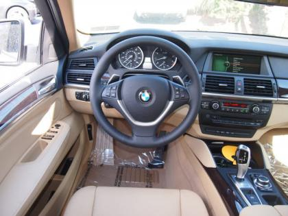 2013 BMW X6 XDRIVE35I - WHITE ON BEIGE 5