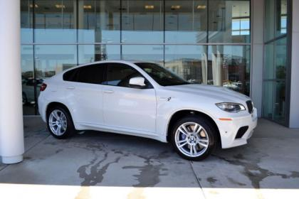 2013 BMW X6 M - WHITE ON BLACK 2