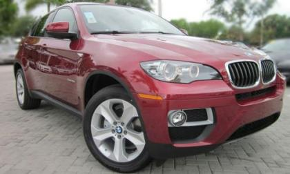 2013 BMW X6 XDRIVE35I - RED ON BEIGE