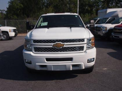 2013 CHEVROLET SILVERADO 3500 HD - WHITE ON EBONY