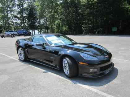 2013 CHEVROLET CORVETTE ZR1 - BLACK ON BLACK 1