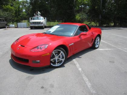 2013 CHEVROLET CORVETTE GRAND SPORT - RED ON BLACK