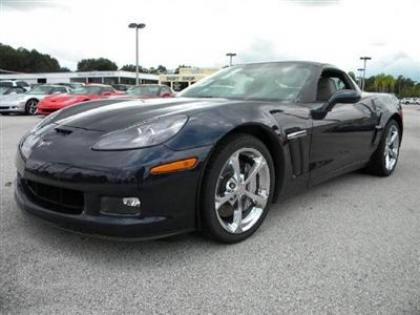 2013 CHEVROLET CORVETTE GRAND SPORT W/3LT - BLACK ON BLACK