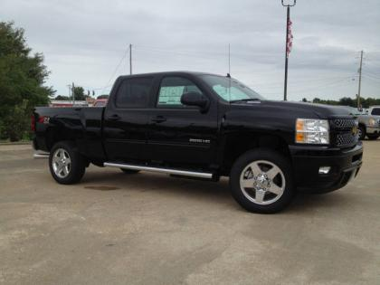2013 CHEVROLET SILVERADO 2500 LTZ H/D - BLACK ON BLACK