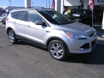 2013 FORD ESCAPE SEL - SILVER ON BLACK