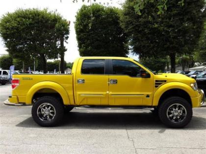 export new 2013 ford f150 tonka yellow on black. Black Bedroom Furniture Sets. Home Design Ideas