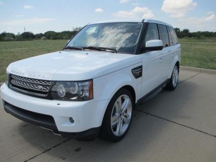 2013 LAND ROVER RANGE ROVER SPORT SUPERCHARGED - WHITE ON BEIGE