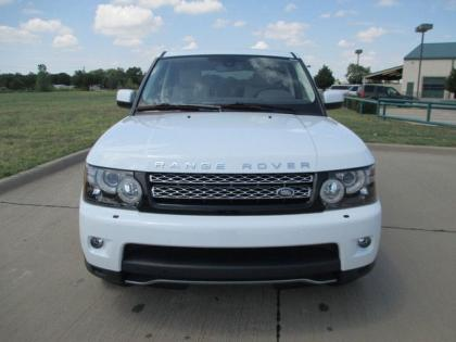 2013 LAND ROVER RANGE ROVER SPORT SUPERCHARGED - WHITE ON BEIGE 2